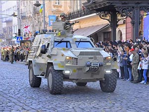 Light armored personnel carrier «Dozor-B»