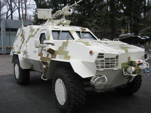 Light armored personnel carrier Dozor-B