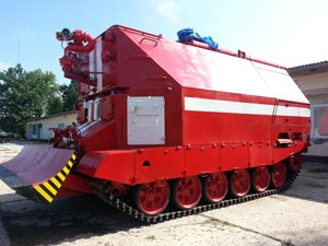 Fire fighting panzer GPM-72